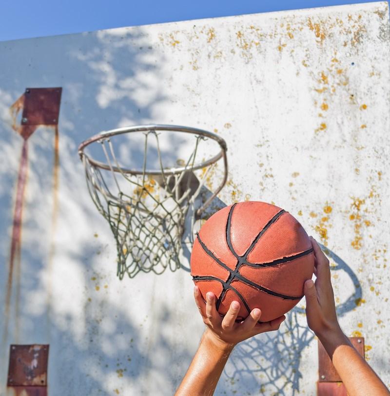 Je joue au basket pour mon plaisir