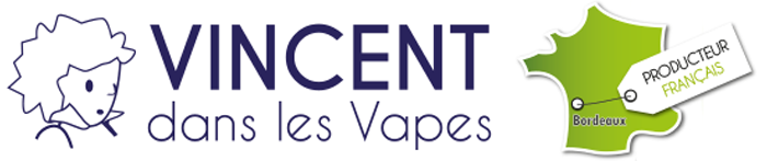 Logo e liquid Vincentdanslesvapes.fr