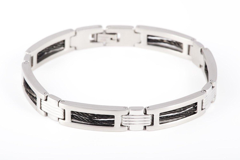 bracelet homme l 39 acier c 39 est un peu brut. Black Bedroom Furniture Sets. Home Design Ideas