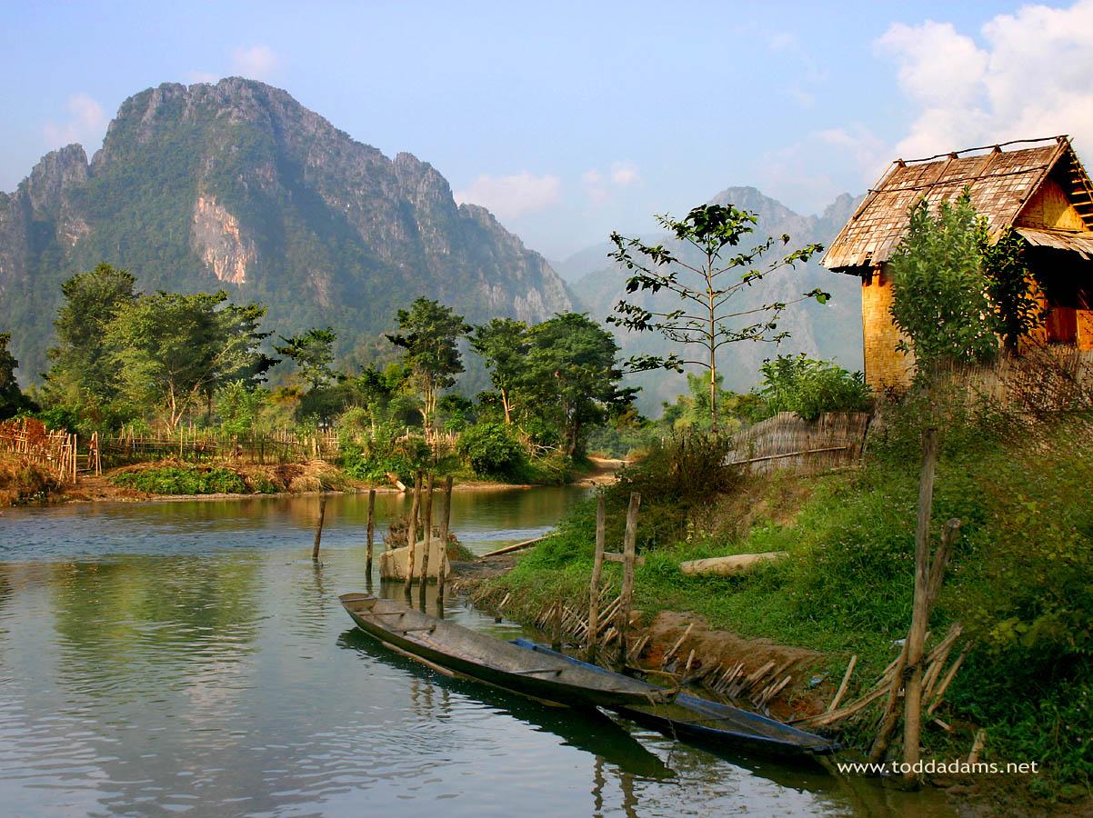 Je prends des vacances au Laos