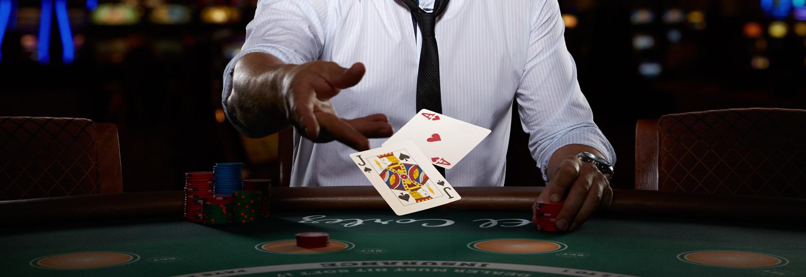 Blackjack : peu de temps pour jouer